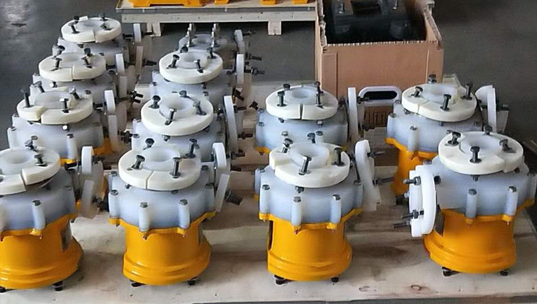 corrosion-resistant magnetic pumps