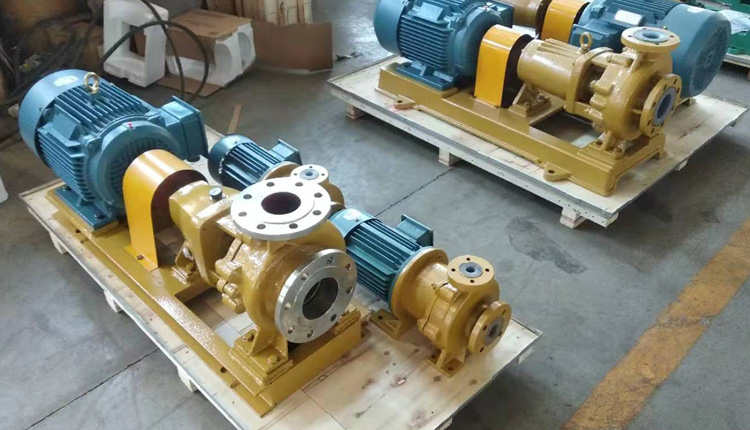 corrosion resistant salt pumps
