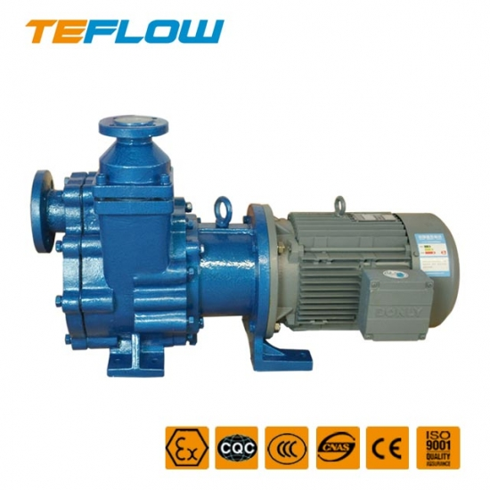 ZFT-Fluoroplastics anticorrosive self-priming pump